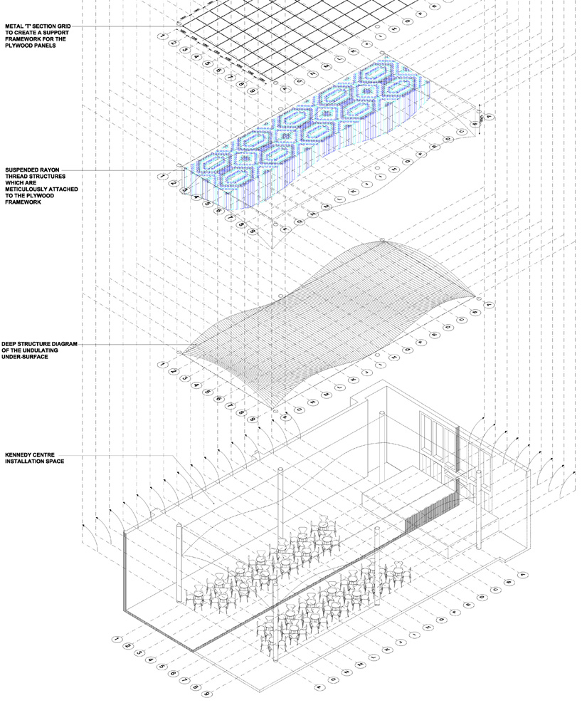 Serie Architects, Progetto The Monsoon Club, Kennedy Center for the Performing Arts, Washigton D.C., 2011