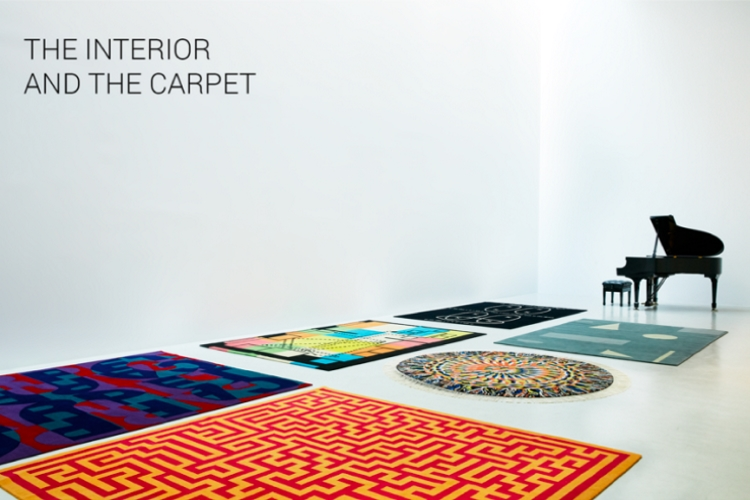 ;ostra The Interior and the Carpet allestita al Pacific Design Center di Los Angeles