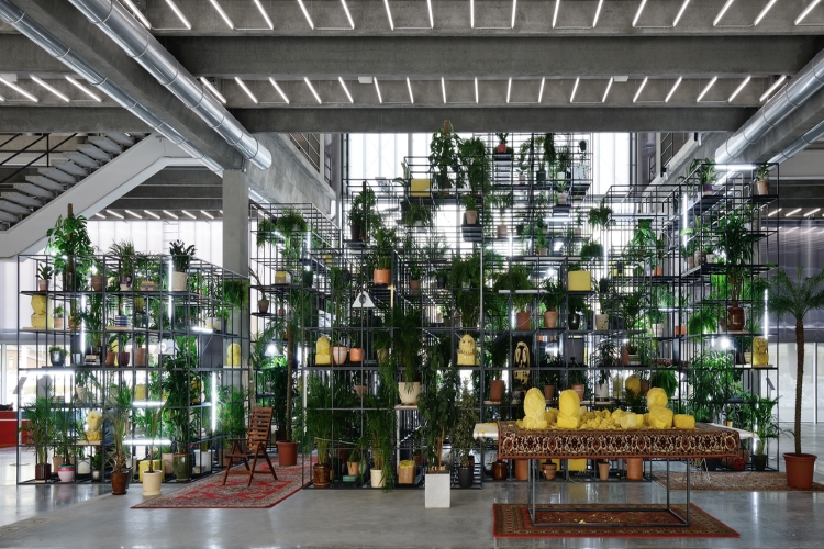 Rashid Johnson, Whithin our Gates, Garage Museum of Contemporary Art, Mosca, Russia, 2016